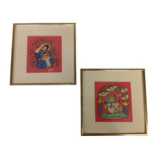Gisella Loeffler Mid-Century Prints - A Pair
