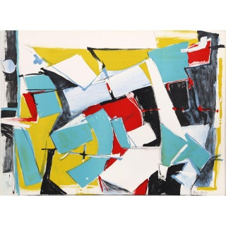 "Jasha Green, ""Untitled 5,"" Lithograph"