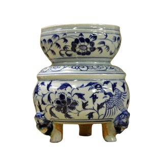 Chinese Porcelain Bird Planter