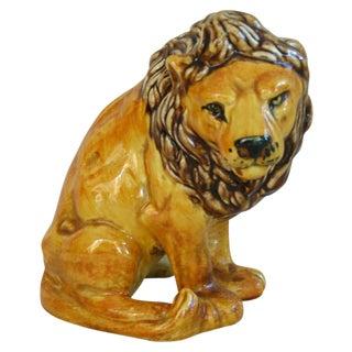 Mid-Century Italian Safari Lion