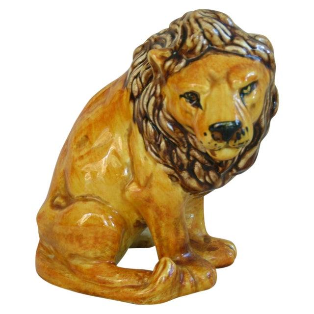 Mid-Century Italian Safari Lion - Image 1 of 7