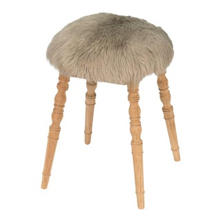 Sarreid Ltd 'Winoma' Beige Stool