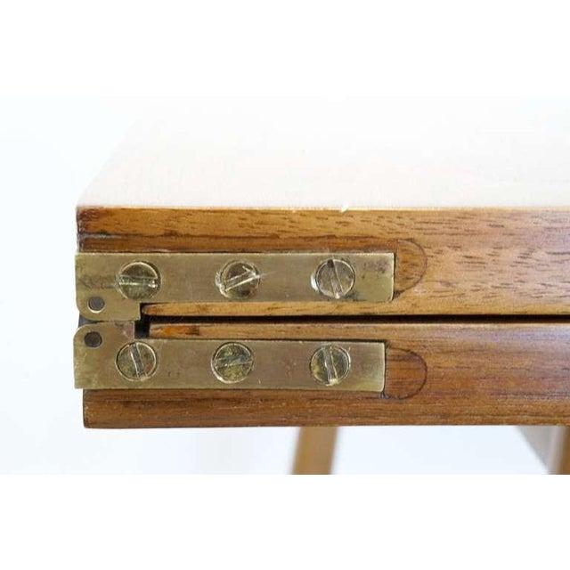 Terence Harold Robsjohn-Gibbings Fliptop Table - Image 8 of 8