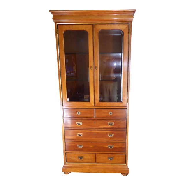 Mt. Airy Entertainment Display Armoire Cabinet - Image 1 of 11