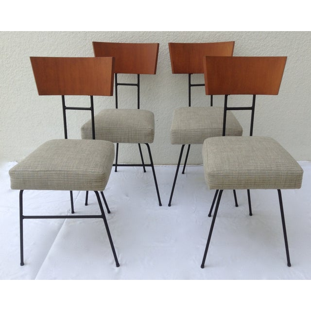 Paul McCobb Wood & Metal Chairs - Set of 4 - Image 11 of 11