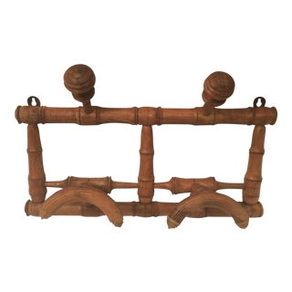 Antique French Hat Rack