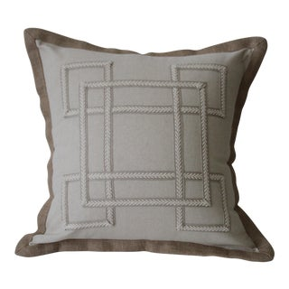 Natural Linen Pillow Cover