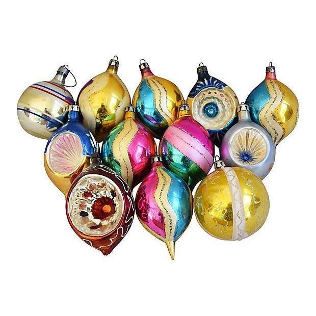 1960s Christmas Ornaments w/Box - Set of 12 - Image 6 of 6