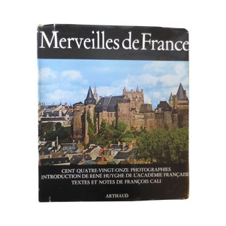 Merveilles De France Illustrated 1960 Book