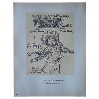 Pierre Bonnard Vintage Lithograph