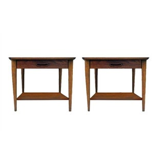 1970s Lane Side Tables - a Pair
