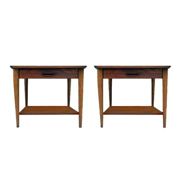 Image of 1970s Lane Side Tables - a Pair