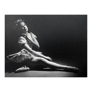 Vintage Young Ballerina Photography