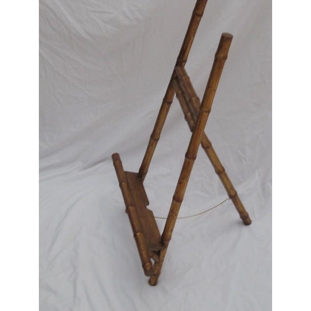 Transitional Large Florentine Style Bamboo Easel - Image 4 of 10