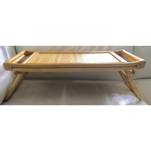 Mid-Century Breakfast in Bed Bamboo Tray - Image 7 of 8