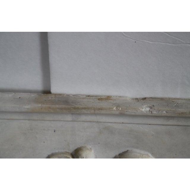 Neoclassical Plaster Relief Cherub Wall Art - Image 10 of 11