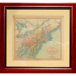 New England Map by Cary, 1807