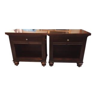 Restoration Hardware Camden Nightstands - A Pair