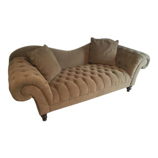 Contemporary Tufted Upholstered Sofa
