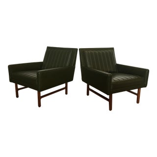 Milo Baughman for Thayer Coggin Mid-Century Modern Chairs - A Pair