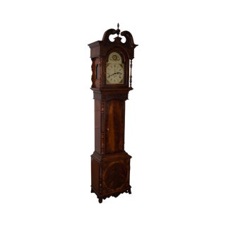 Heritage Heirlooms Flame Mahogany Tall Case Grandfather Clock