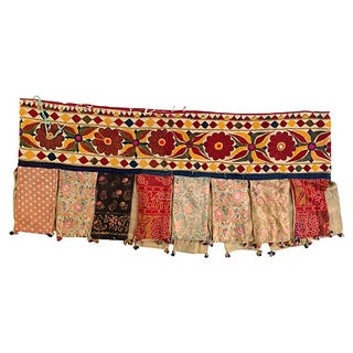 Indian Antique Wedding Tribal Tent Banner