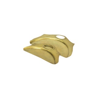 Brass Crumb Butlers- A Pair