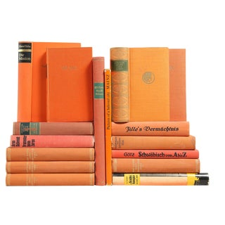 Tangerine & Melon German Mixed Books - Set of 16