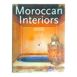 """Moroccan Interiors "" Vintage Large Hardcover Interior Design Book"