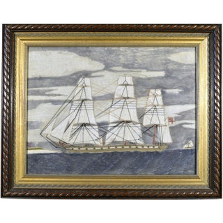 Sailor's Woolwork 'Woolie' of a Royal Navy Frigate