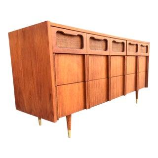 Mid-Century Cane Detail Dresser