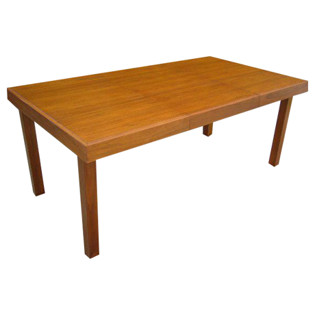Classic Early George Nelson Walnut Dining Table   Image 1 Of 11