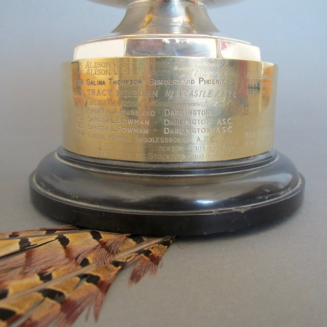 1970's Swimming Rose Bowl Trophy - Image 8 of 8
