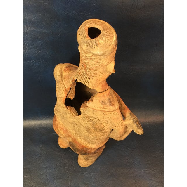 Pre-Columbian Colima Standing Pottery Figure - Image 8 of 11