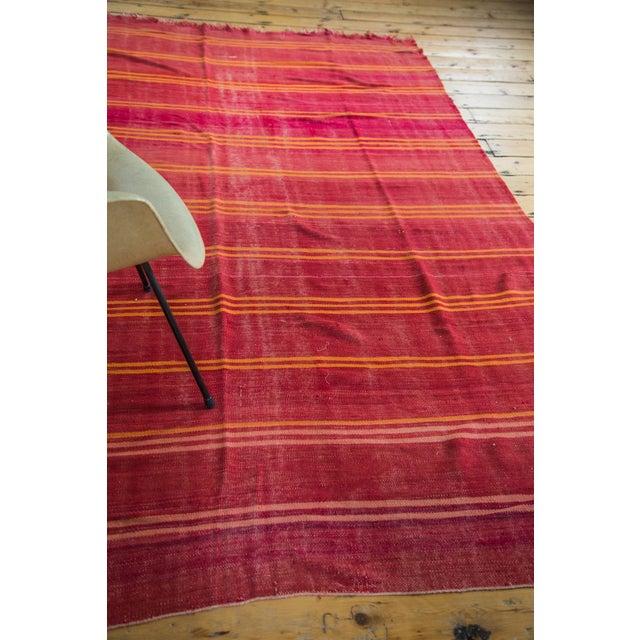 Image of Vintage Moroccan Kilim Carpet- 5′4″ × 9′7″