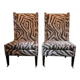 Zikat Linen Hostess Chairs - A Pair