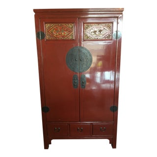 Vintage Chinese Wedding Cabinet