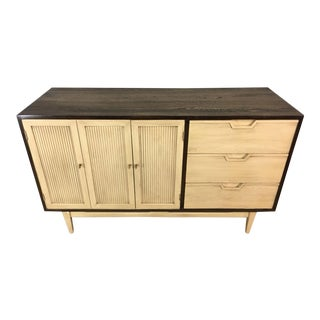 Two-Toned Mid Century Modern Credenza