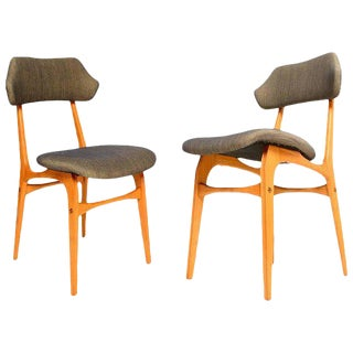 Italian Side Chairs After Carlo Mollino - A Pair