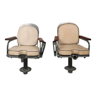 Pair of Mid-Century Rockaway Sailfish Ship Chairs