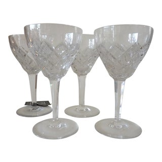 Cut Crystal Wine Goblets