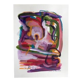 "Jessalin Beutler ""No. 82"" Acrylic Painting"