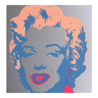 "Andy Warhol (After) ""Marilyn"" Silkscreen"