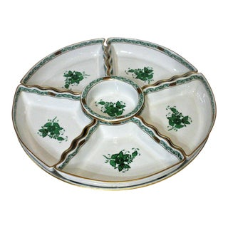 Herend Chinese Banquet Hors D' Oeuvres Set - Set of 7