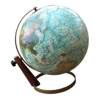 Vintage Replogle Globe on Stand