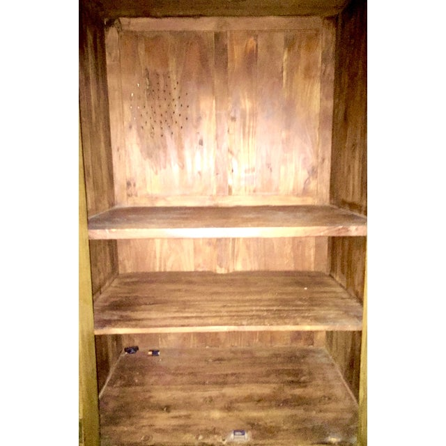 Solid Teak Armoire - Image 4 of 4