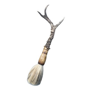 Antler Calligraphy Brush