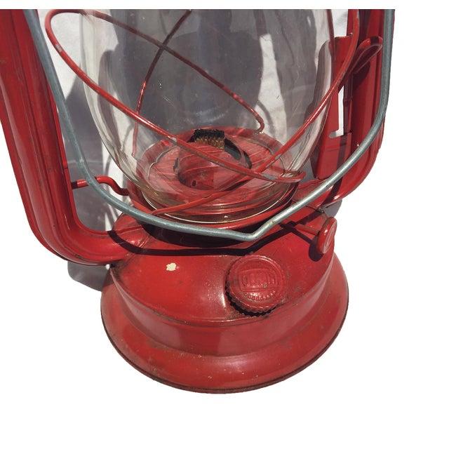 Vintage Red Camping Lantern - Image 3 of 4
