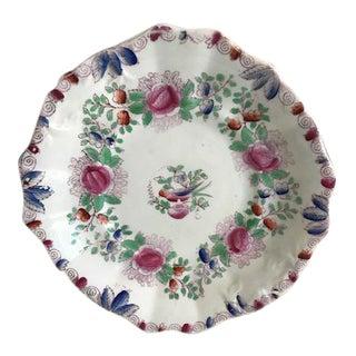 Vintage Floral Decorative Plate