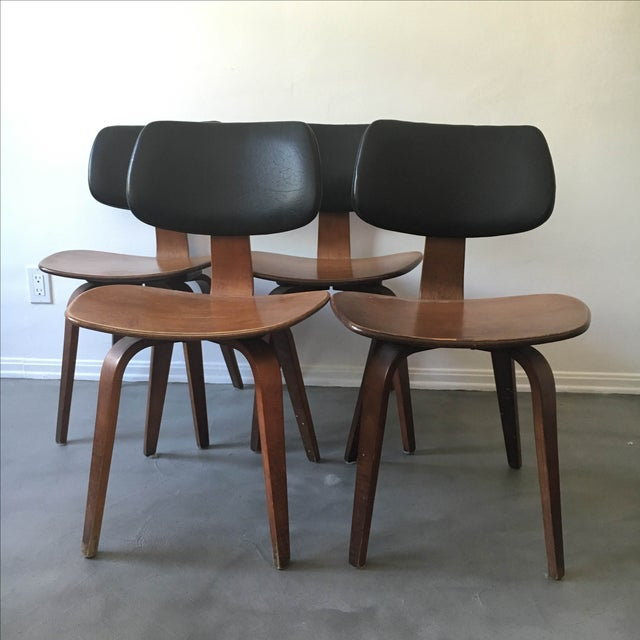 Thonet Bentwood Dining Chairs - Set of 4 - Image 3 of 8